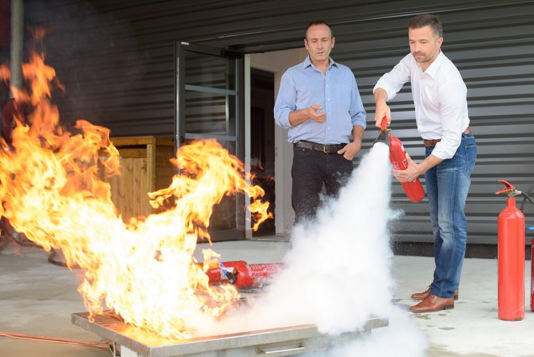 Fire Extinguisher Training, Courses | SOA Safety Training Centre
